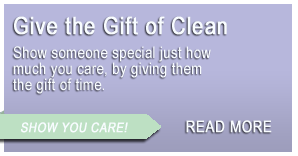Spokane House Cleaning GIft Certificate