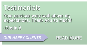 Spokane House Cleaning Testimonials
